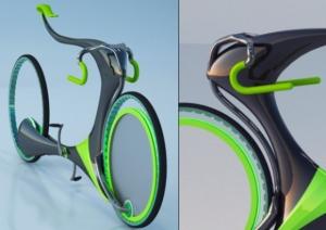 Модель велосипеда будущего FlyingBike