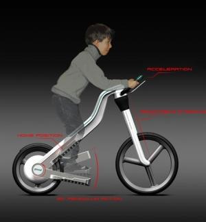 Велосипед для любителей ходьбы