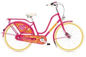 Яркая модель дамского велосипеда
