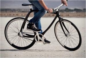 Легкая модель городского велосипеда