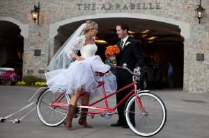 Прокат тандема на свадьбе