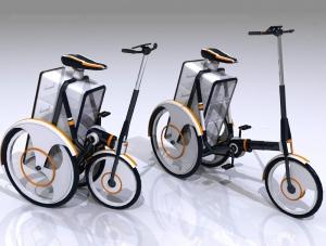Велосипед для курьеров