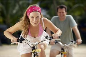 Люди на велосипедах